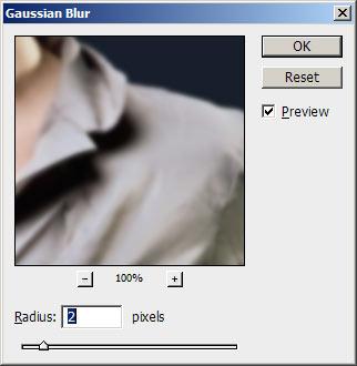 Photoshop Gaussian Blur