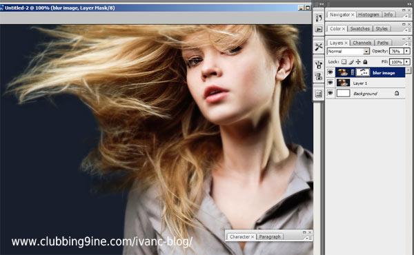 Photoshop Masking Brush
