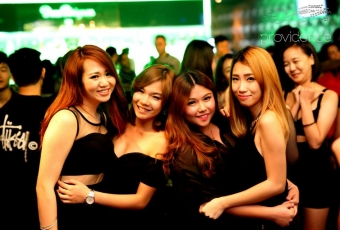 Girls in Black at Providence Club