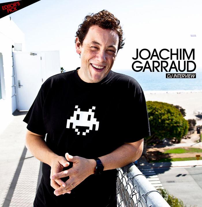 Joachim Garraud DJ Interview