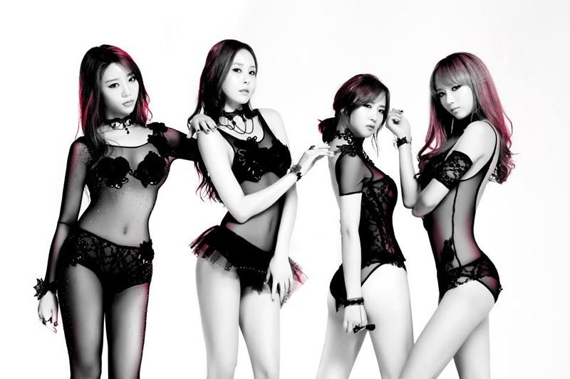 """K-Pop Girl Group 4L Performed Sexy """"Move"""" Music Video"""
