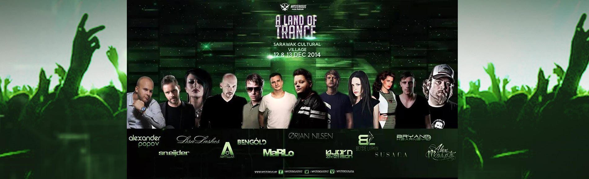 A Land Of Trance 2014: The Biggest Trance Event In Borneo!