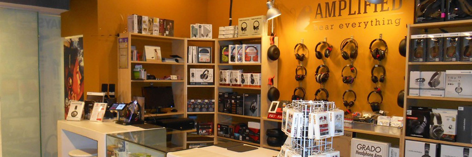 Amplified Malaysia: The Best Headphones Store