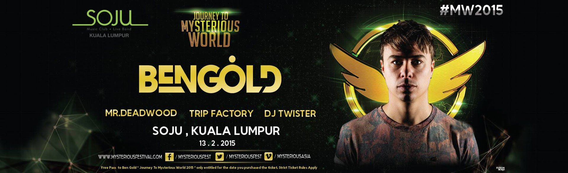 MysteriousWorld2015: Journey Continues with Ben Gold
