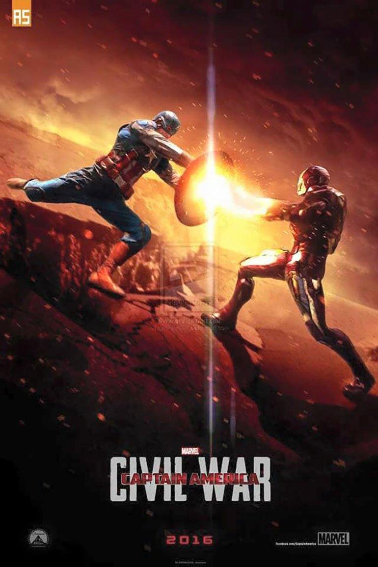 Captain America Civil War 2016 Movie