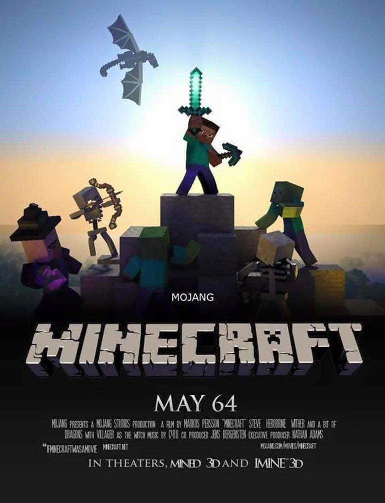 Minecraft Movie 2016