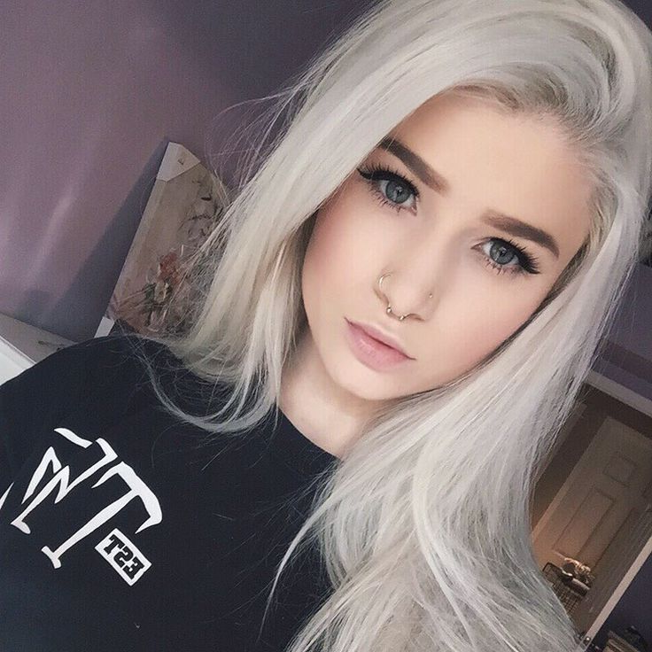 Grey Hair Girl Courtney Dickerson