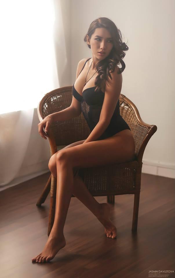 Model Photoshoot Jasmin Davletova Ernest Tan