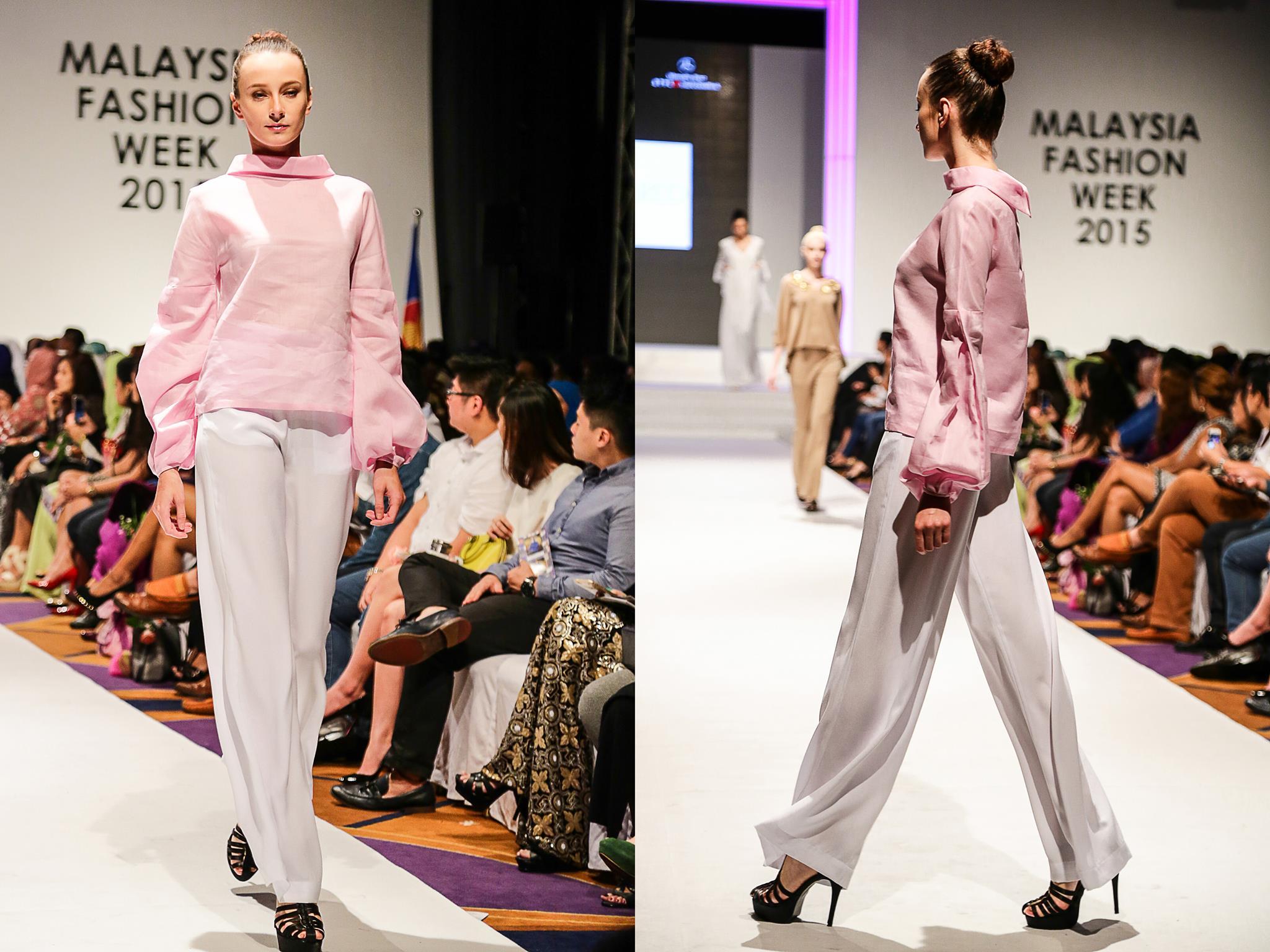 Victoria Fulgens by Ernest Tan Malaysia Fashion-Week