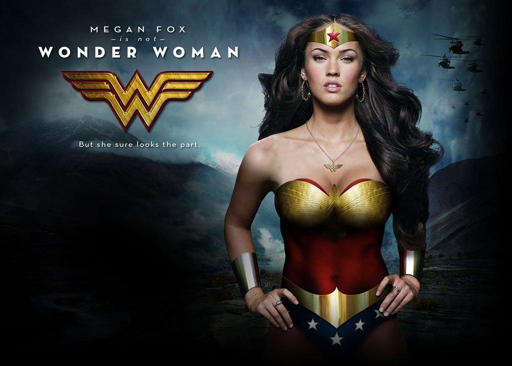 Megan Fox Wonder Woman