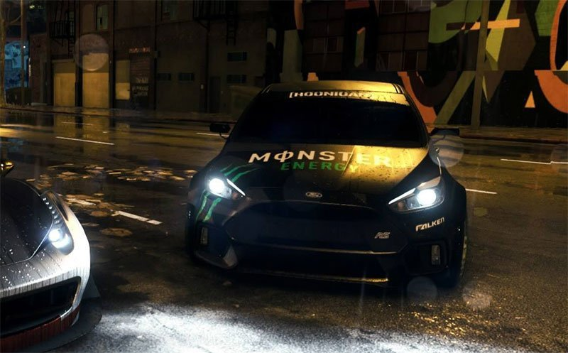 Ford Focus RS 2016 PS4
