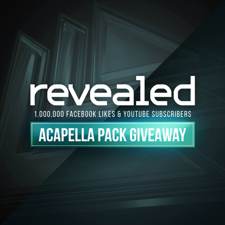 Revealed Recordings Acapella Pack Download