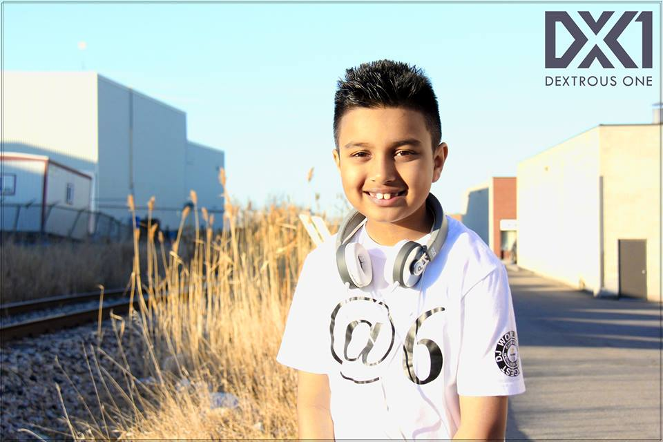 World's Youngest DJ Dextrous One Submits Mix for Redbull Competition