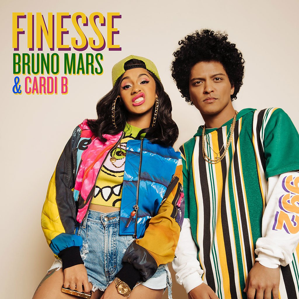 Bruno Mars Teamed Up with Cardi B for New Remix of Finesse