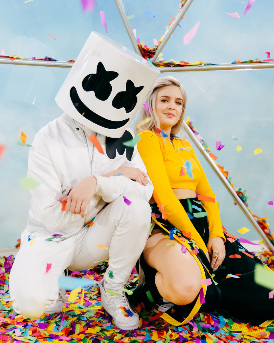 Marshmello & Anne Marie Photo