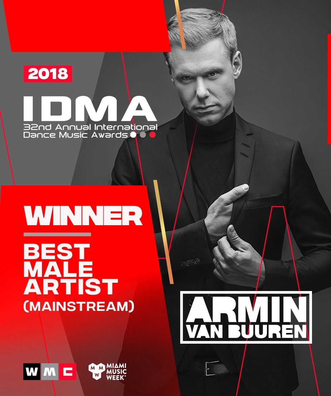 Armin van Buuren & Armada Music Win Big at IDMA 2018