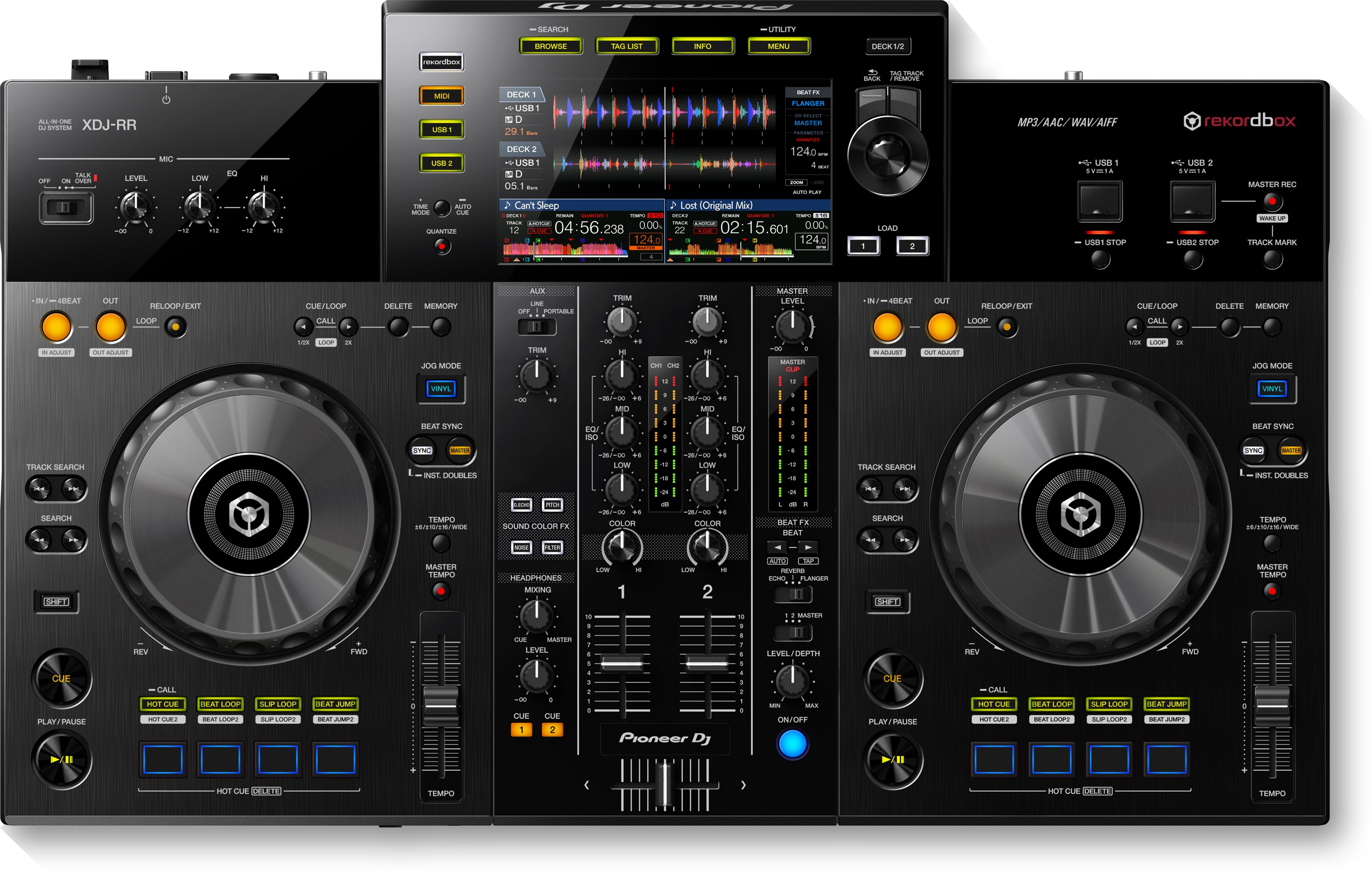 Pioneer XDJ-RR All-In-One 2-Channel DJ System for Rekordbox