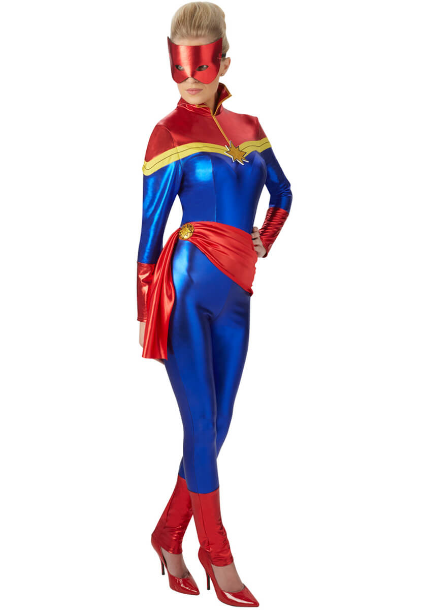 Captain Marvel Costume Halloween Ideas