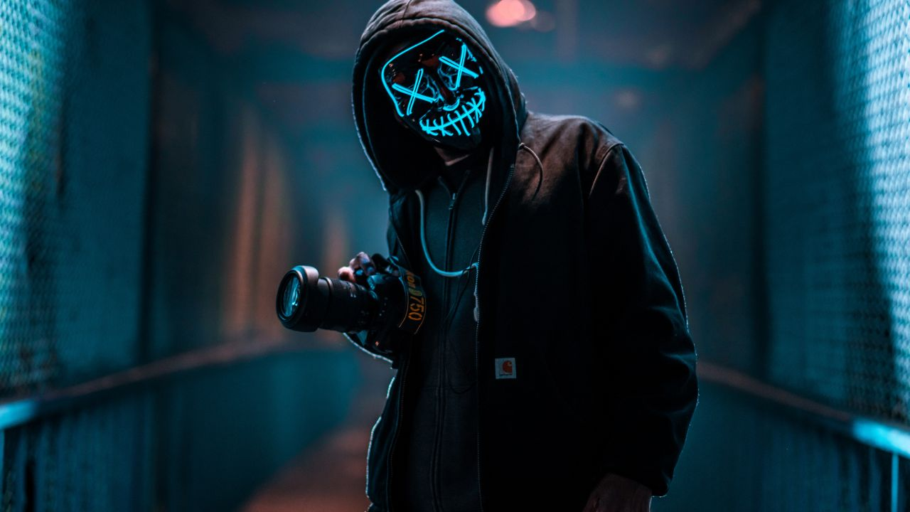 LED Purge Mask for Halloween