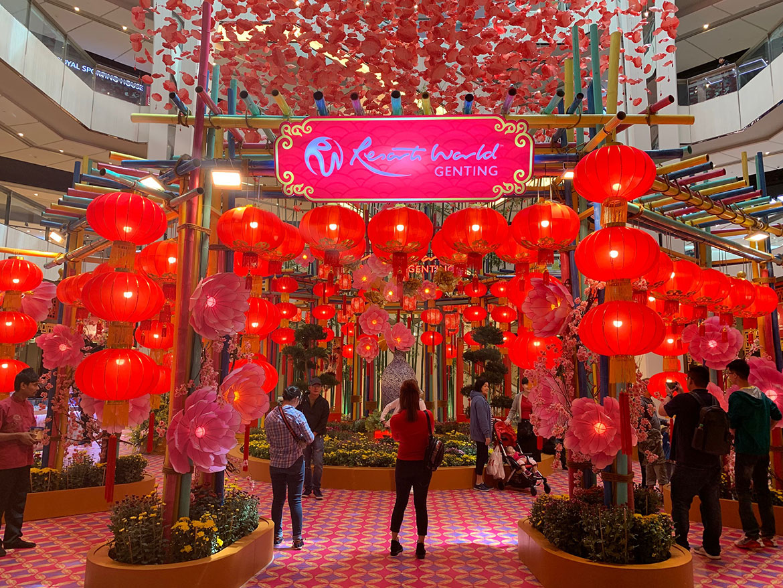 Photo 1 Chinese New Year Decor at SkyAtrium SkyAvenue