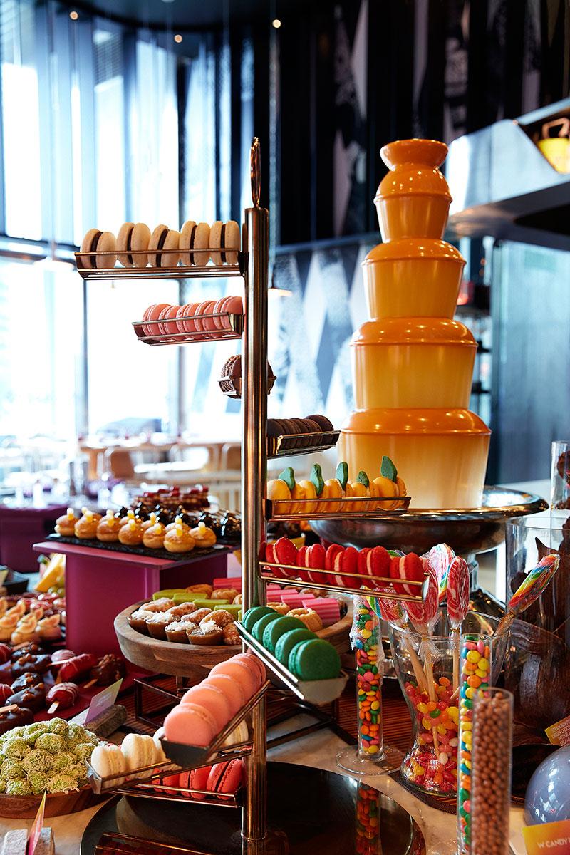 Sunday Retox Brunch Dessert Counter
