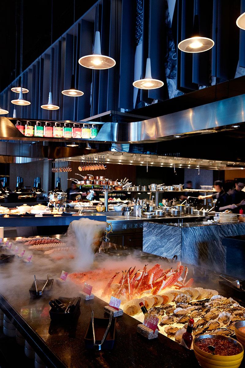 Sunday Retox Brunch Fresh Seafood Buffet