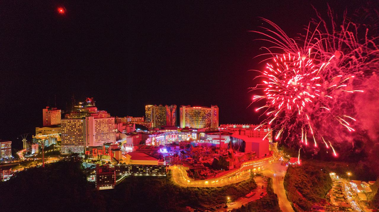 Genting Countdown Fireworks