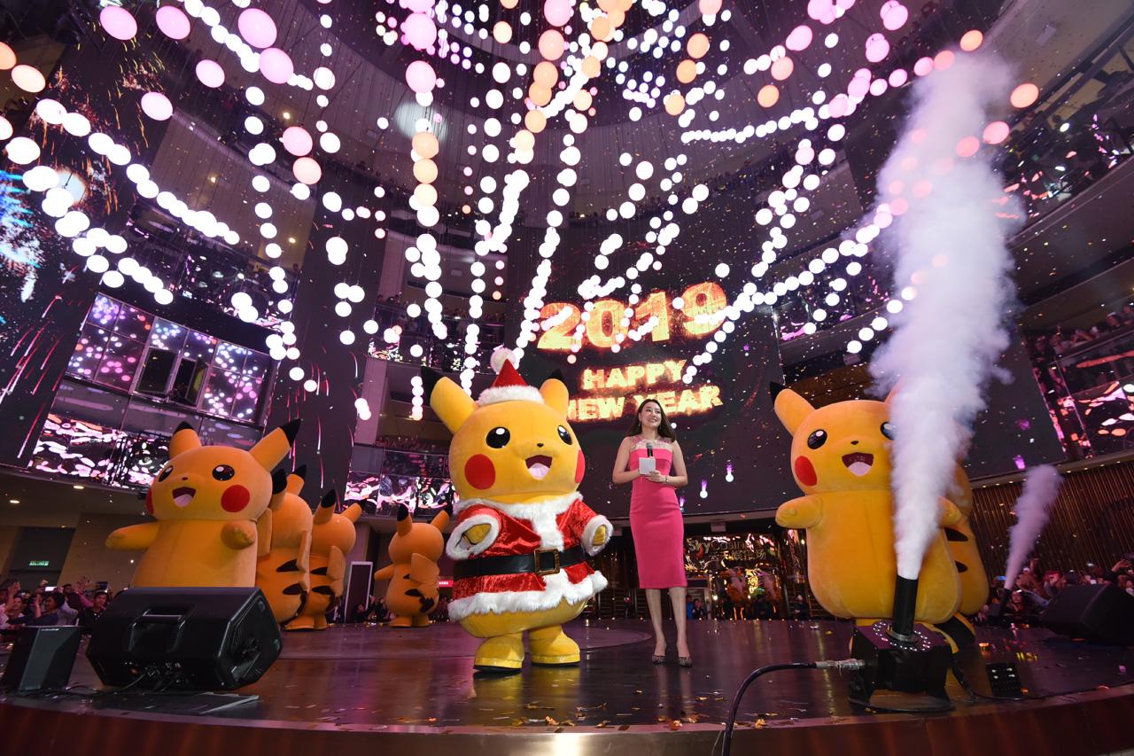 Pikachu New Year Resort World Genting