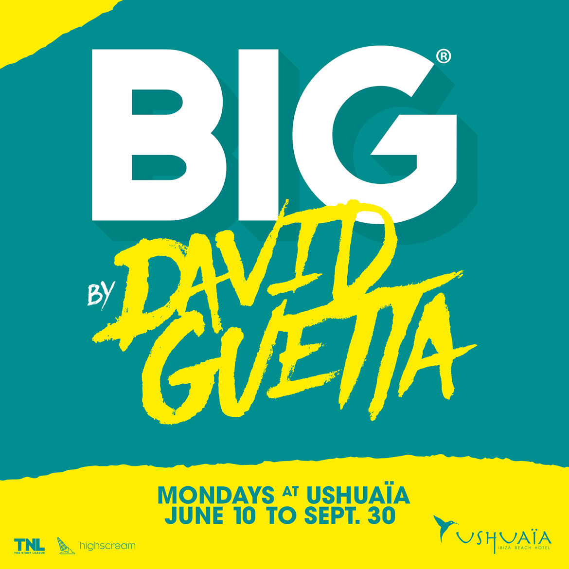 Ushuaia Ibiza Beach Hotel BIG By David Guetta 2019