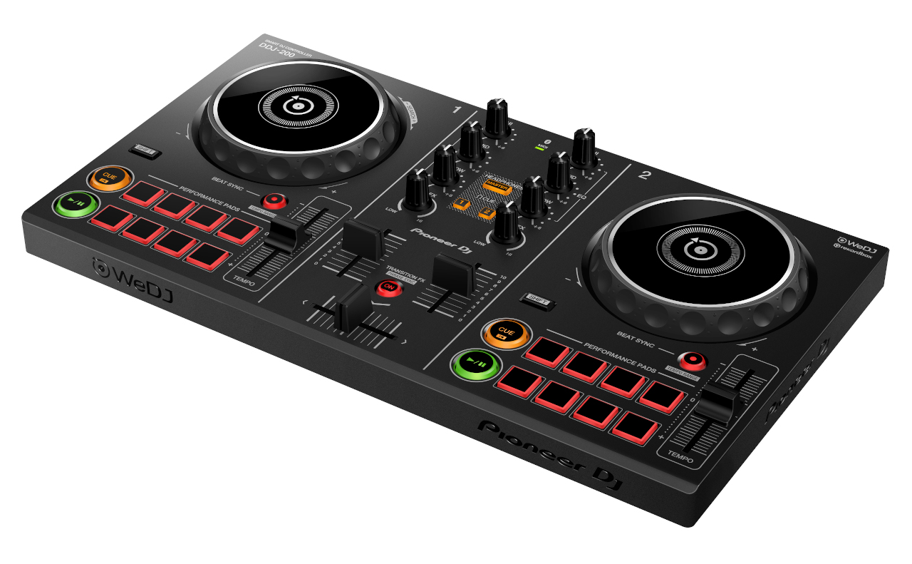 Pioneer DDJ 200 DJ Controller 2019 Model - iPhone Compatible