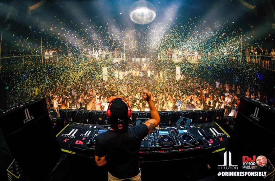 Illuzion Phuket DJ Chazin