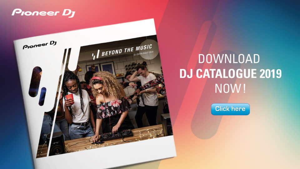 Pioneer DJ 2019 Catalogue Download