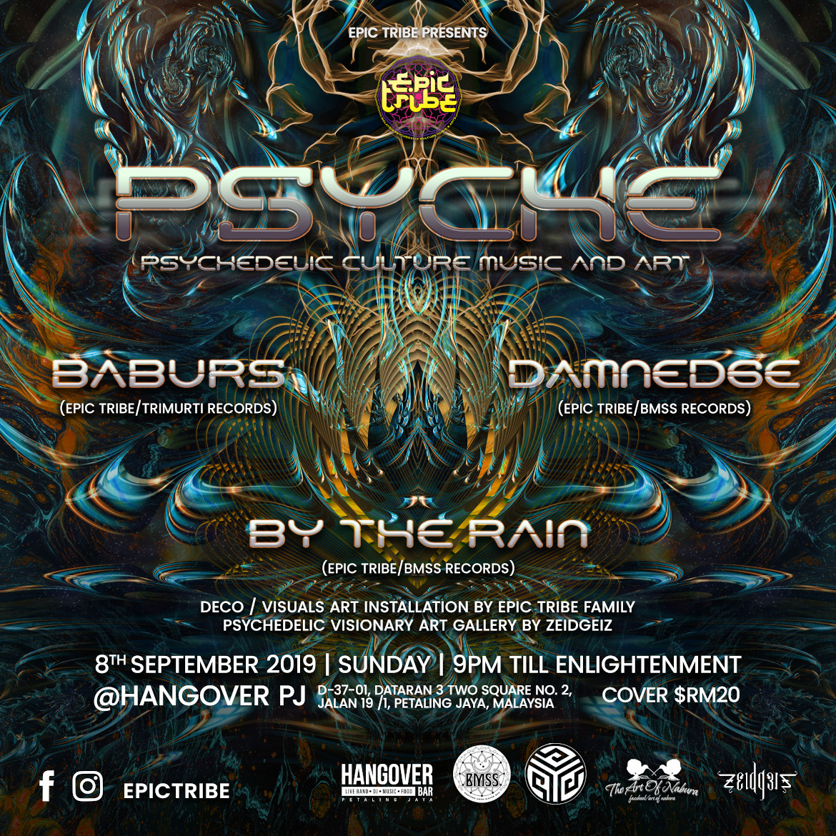 EPIC Tribe pres. Psyche @ The Hangover PJ