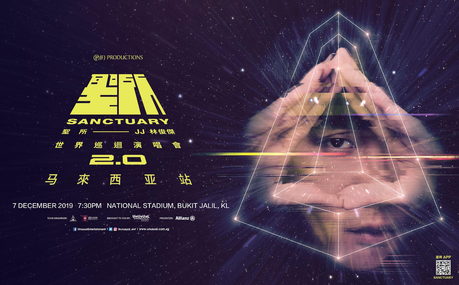 JJ Lin Live In KL, Sanctuary 2.0 World Tour Malaysia 2019