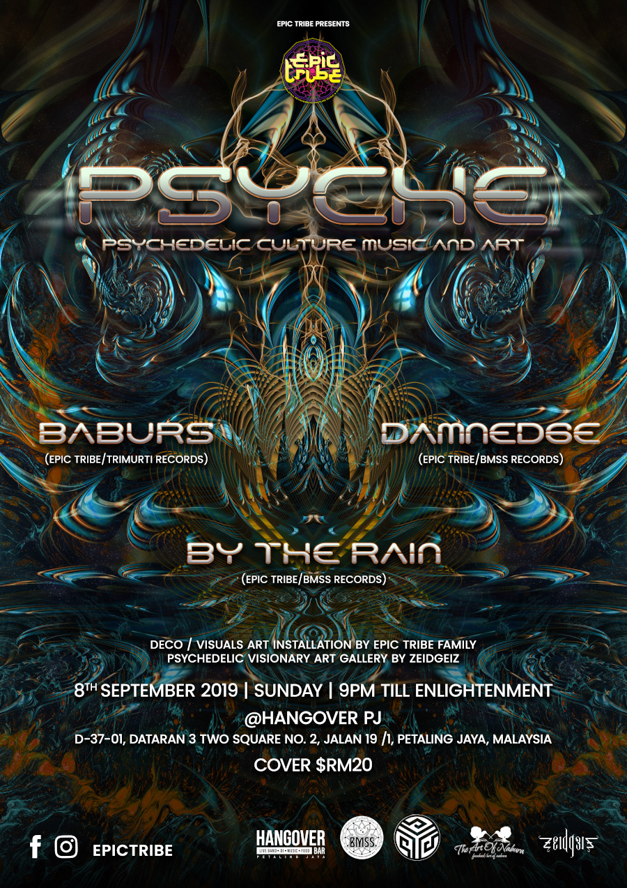 Epic Tribe presents Psyche @ Hangover PJ
