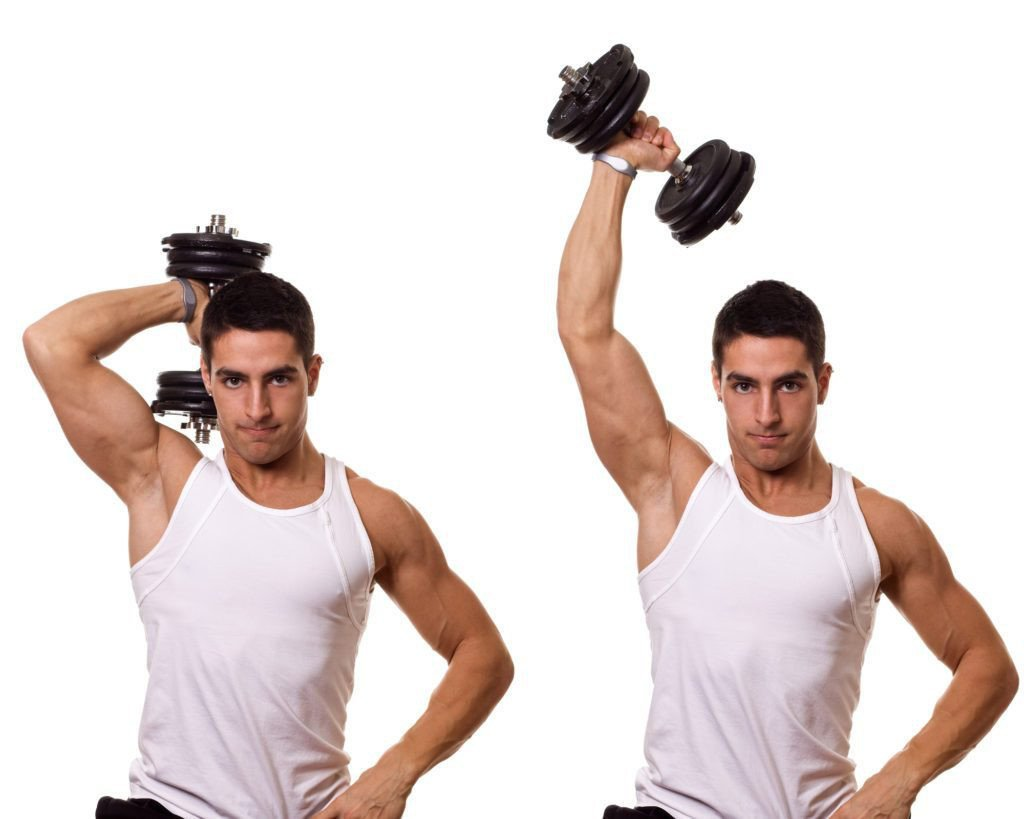 Best Workout Technique #9 - Overhead Dumbbell Triceps Extension Exercise