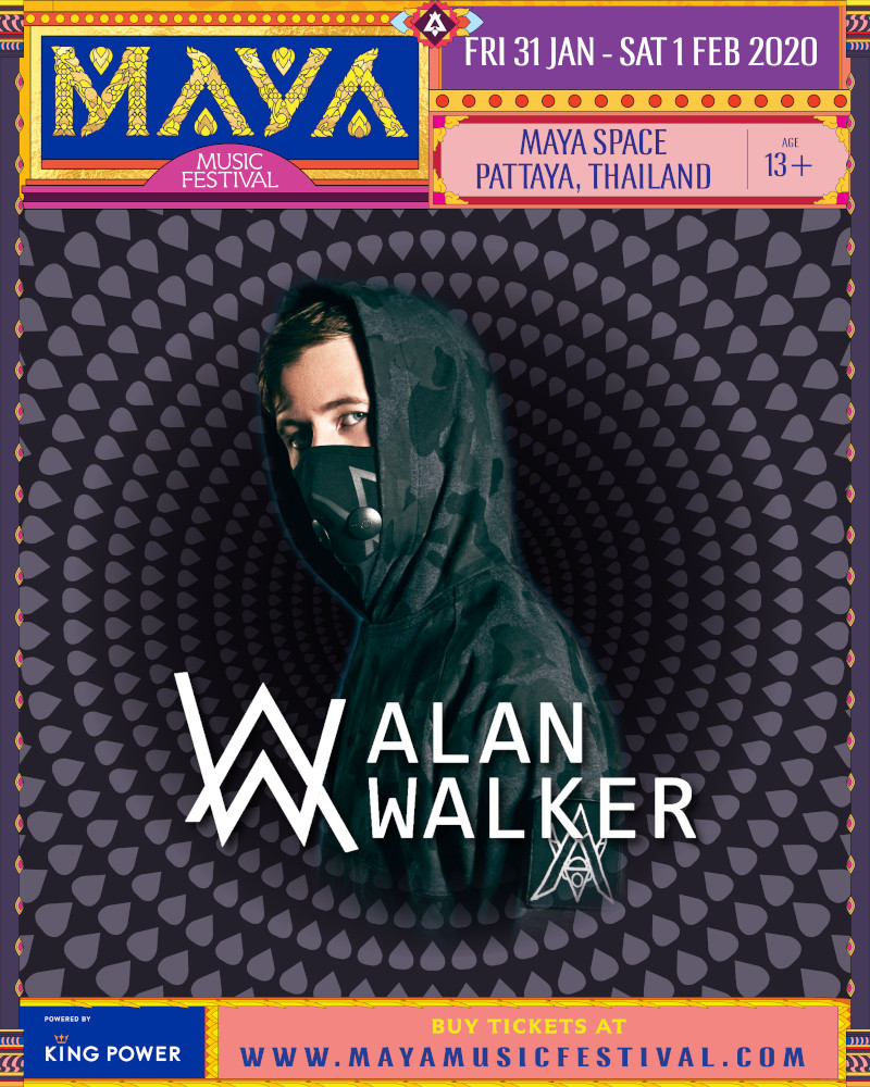 MAYA Pattaya 2020 - Alan Walker