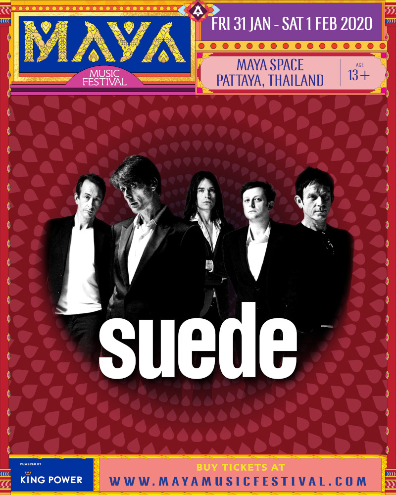 MAYA Pattaya 2020 - Suede