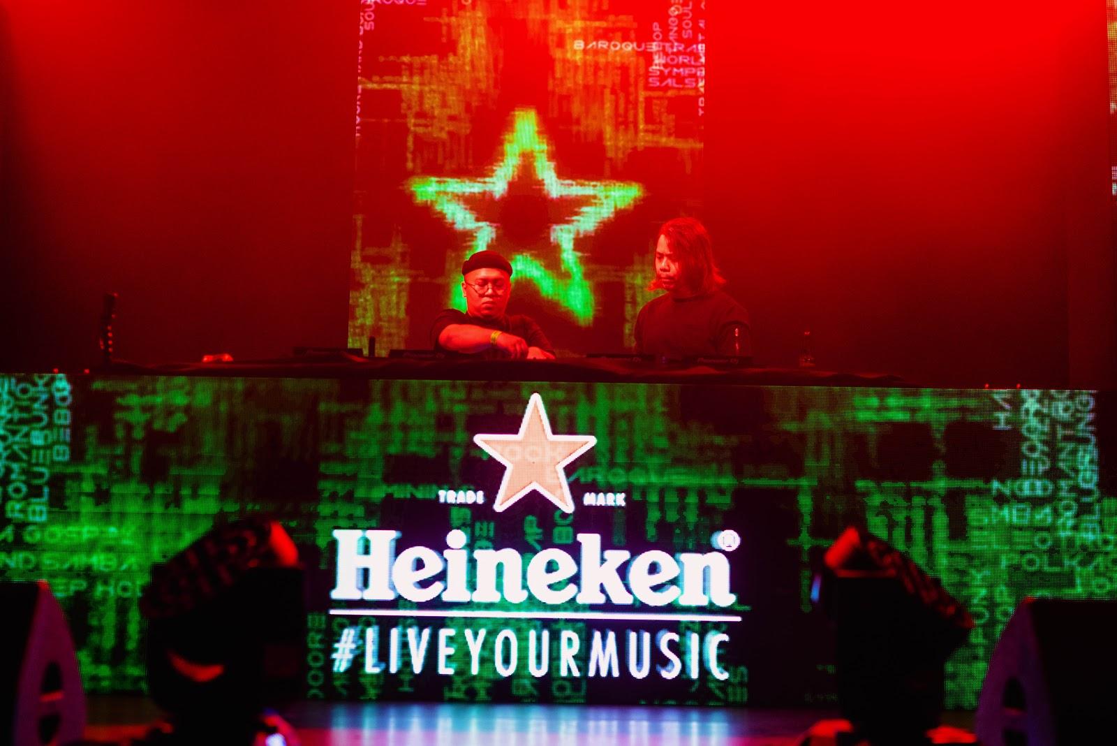 Chukiess & Whackboi Heineken Live Your Music