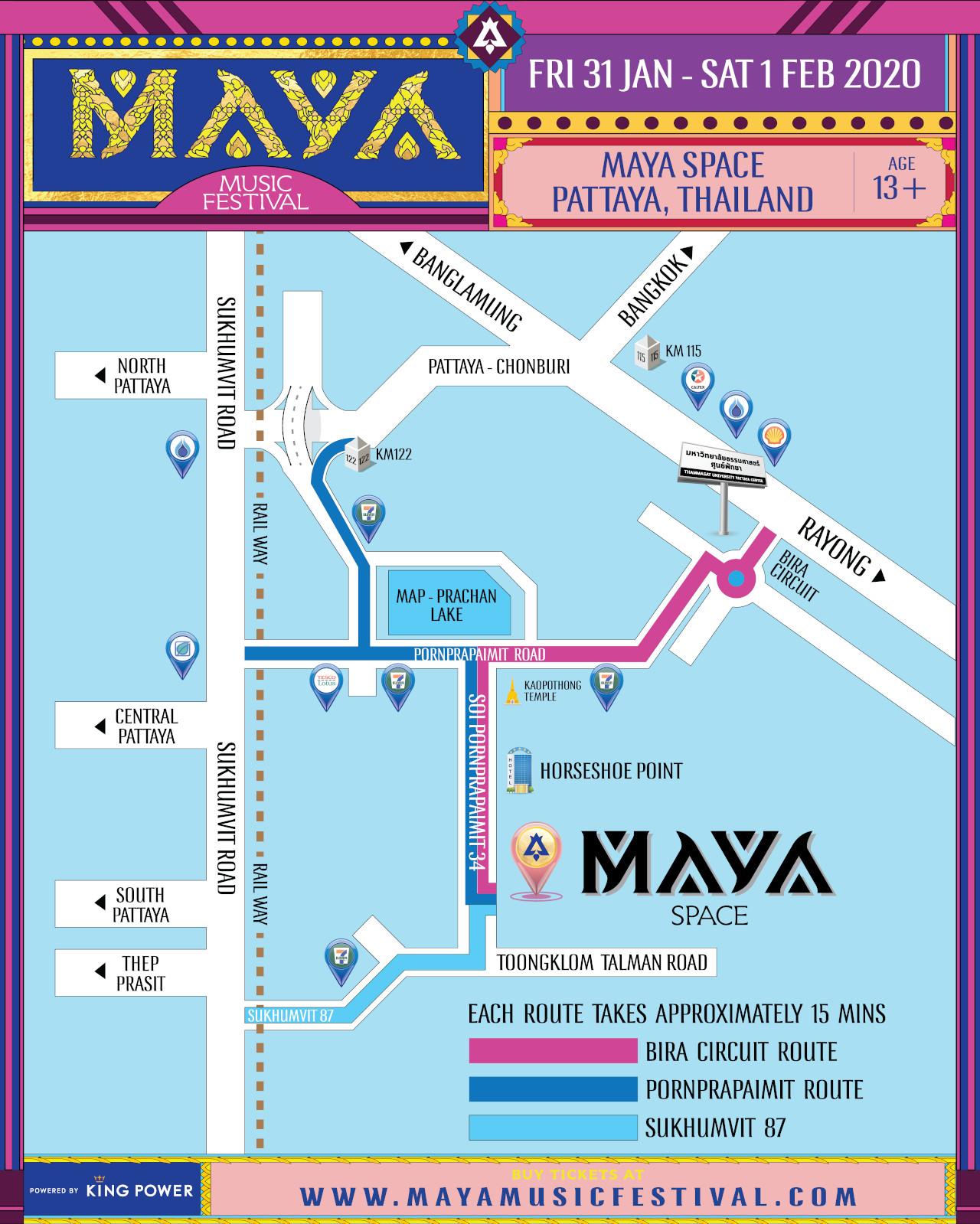 MAYA 2020 Map