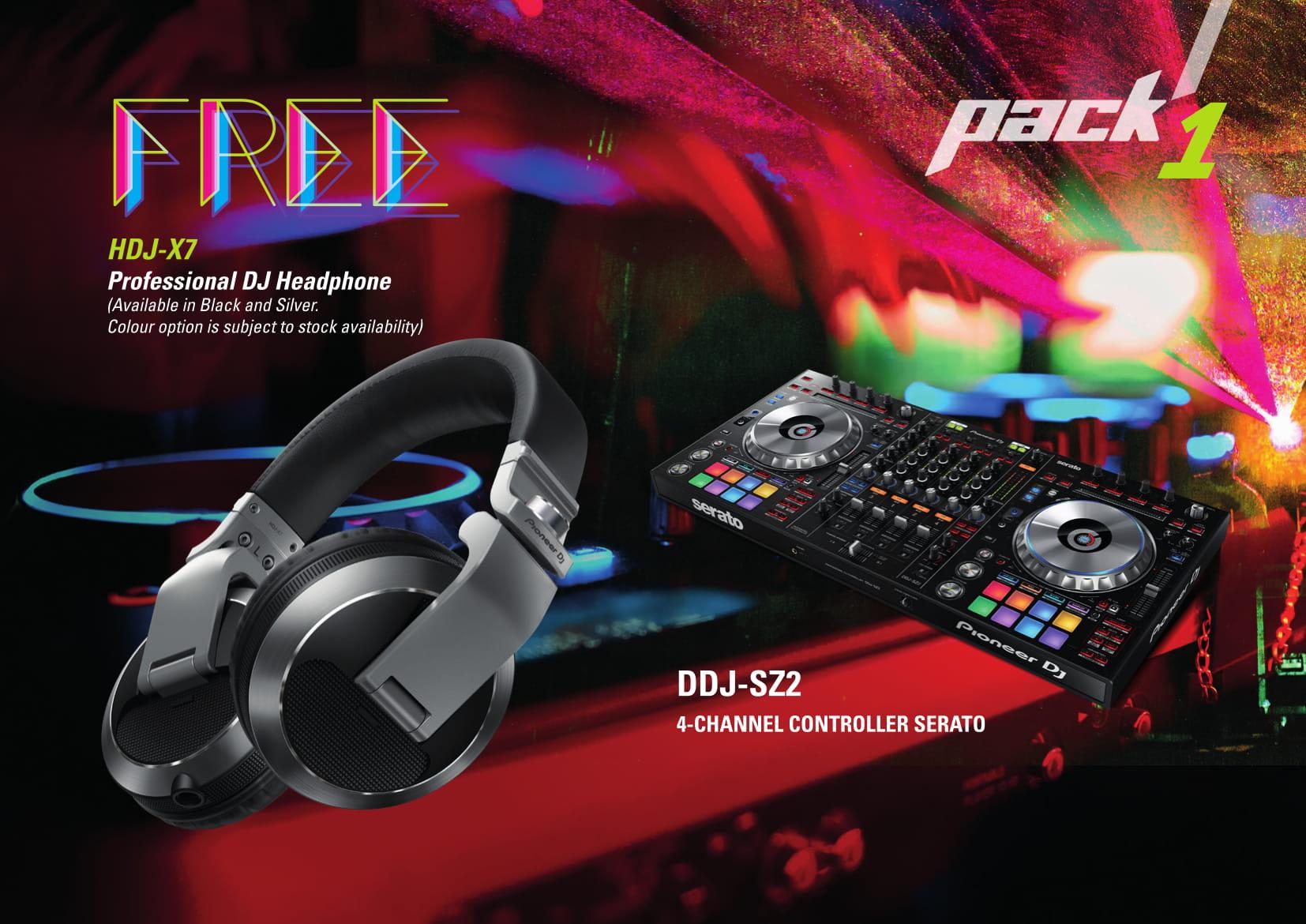 Pioneer DJ Pack 1 Promotion