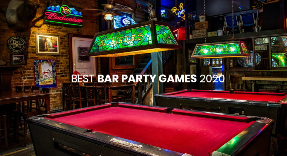Best Party Games in The Bar